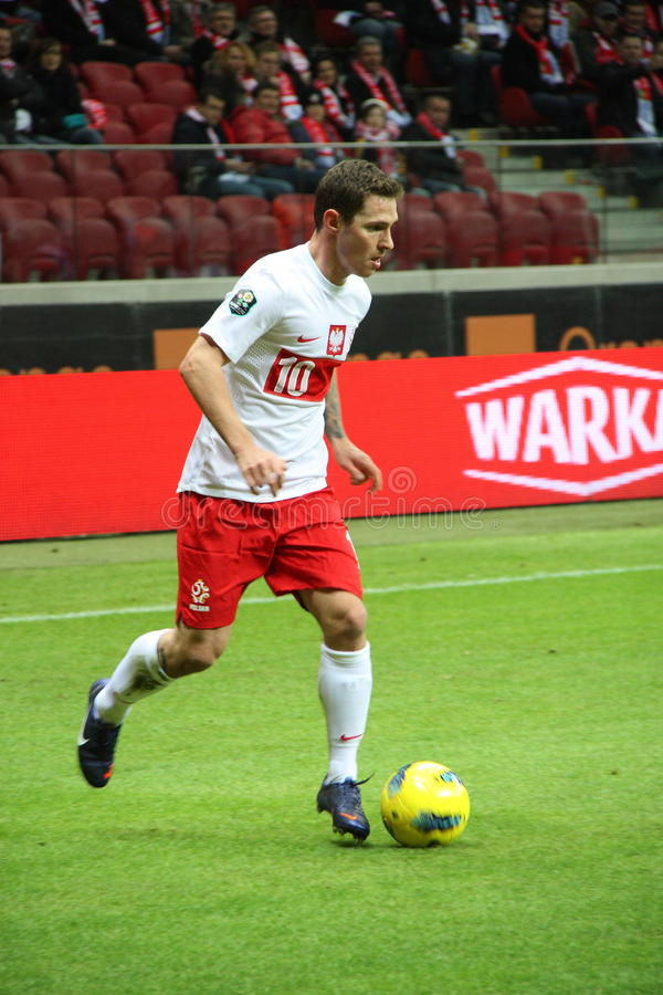Ludovic Obraniak (Girondins Bordeaux) stockfoto