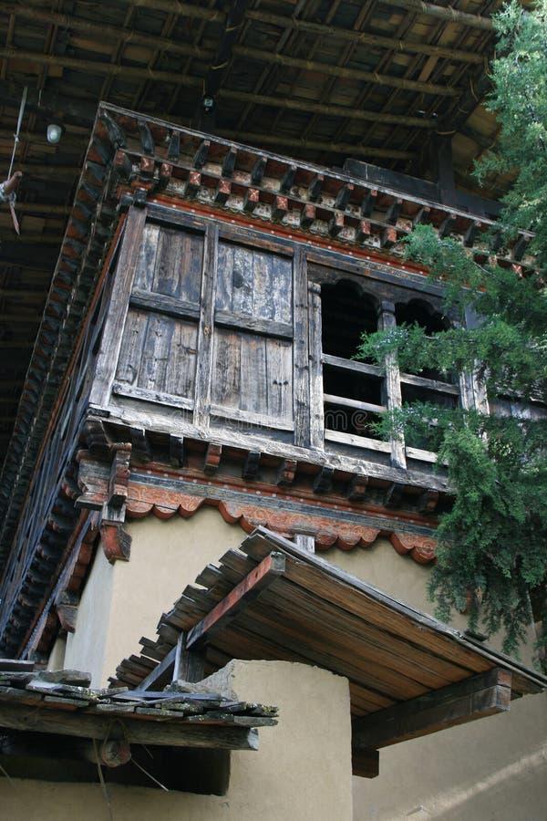 (3) ludowy dziedzictwa muzeum Thimphu, Bhutan - obrazy stock