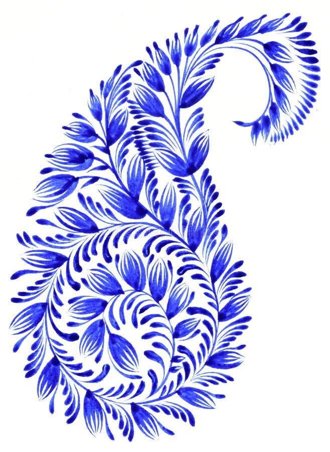 Ludowy ornament ilustracja wektor