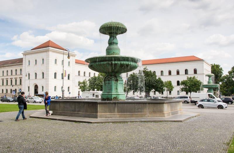 Ludwig Maximilian University von München stockbilder