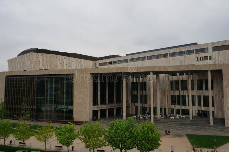 Ludwig Museum - Μουσείο Σύγχρονης Τέχνης στη Βουδαπέστη στοκ φωτογραφία με δικαίωμα ελεύθερης χρήσης