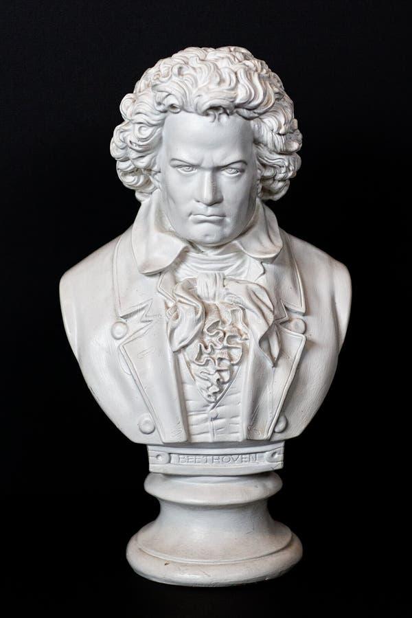 Ludwig Van Beethoven συγκρατημένο στοκ εικόνες
