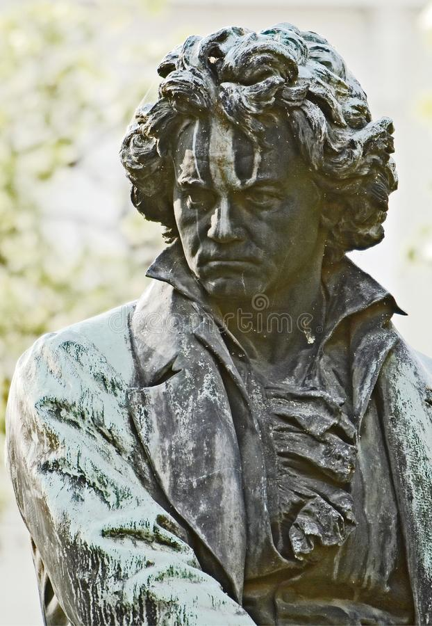 Ludwig Van Beethoven fotografia de stock royalty free