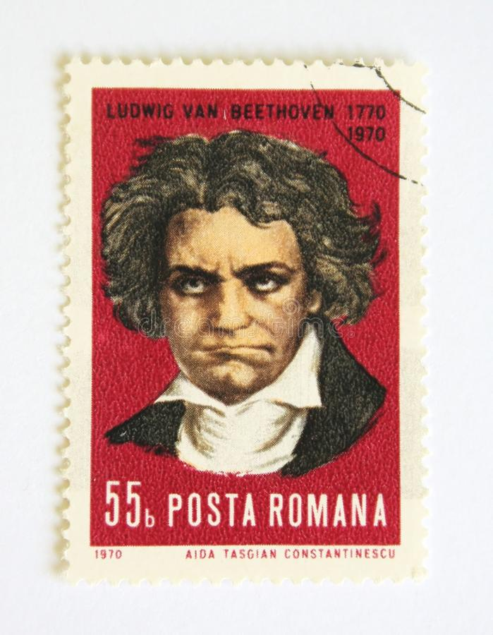Ludwig Van Beethoven foto de stock royalty free