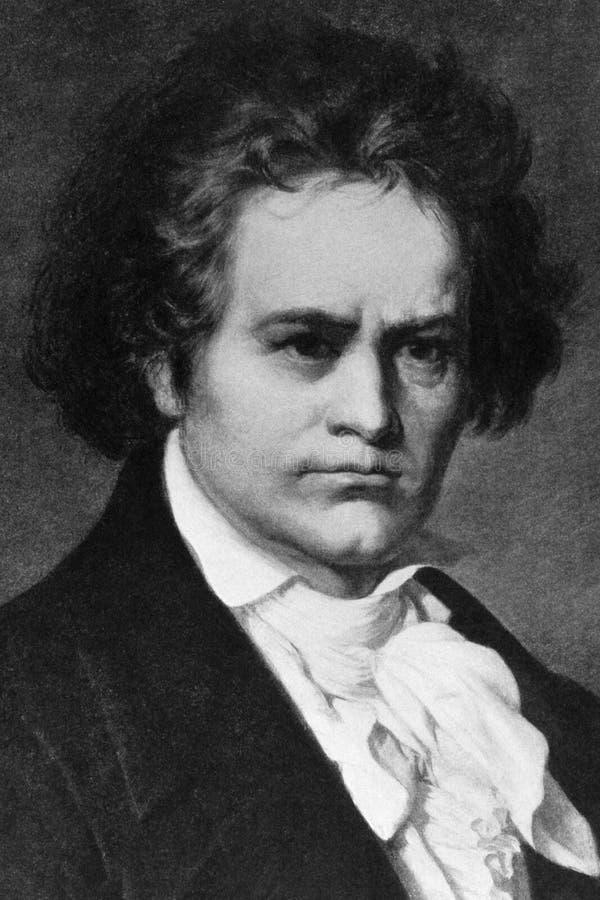 Ludwig Van Beethoven photo libre de droits