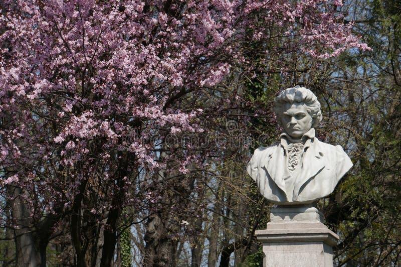 Ludwig van Beethoven imagens de stock