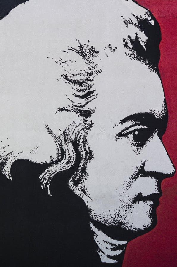 Ludwig Van Beethoven image stock