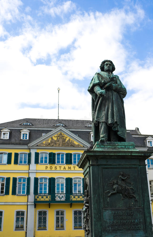 Ludwig Van Beethoven Monument Stock Images