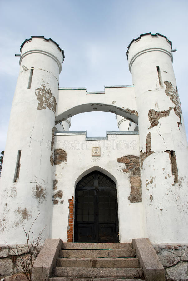 Ludwigsburg Kapelle in Monrepos (Vyborg) stockbilder