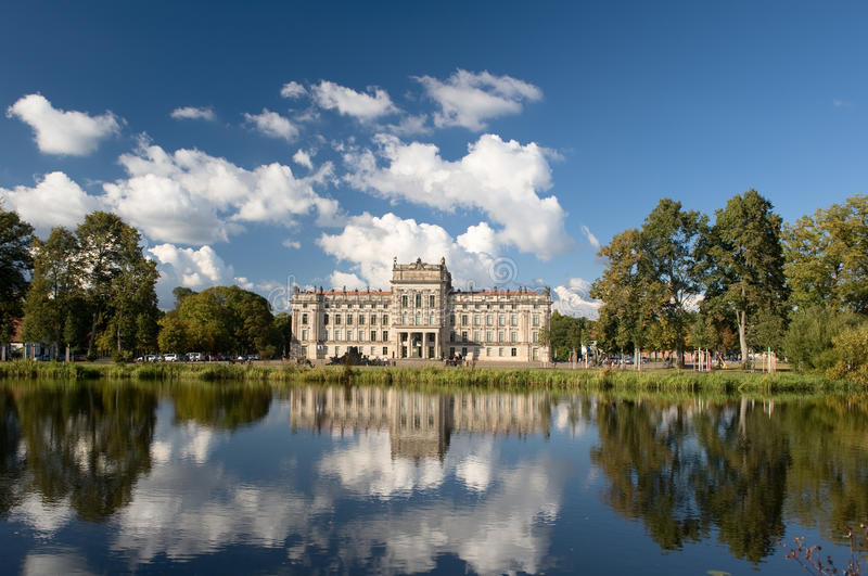 Ludwigslust palace royalty free stock photo