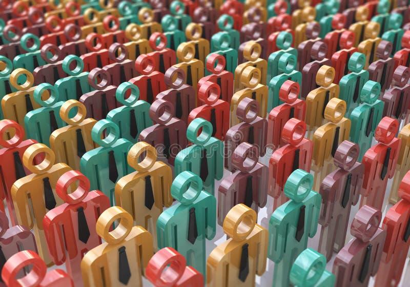 Ludzi, społeczeństwa i socjalny sieci interneta sieci Www medialny commun, obraz stock