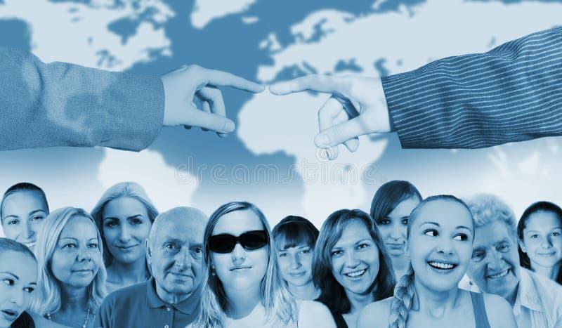 ludzie światowi zdjęcia stock