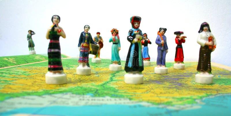 ludzie światu. zdjęcia royalty free