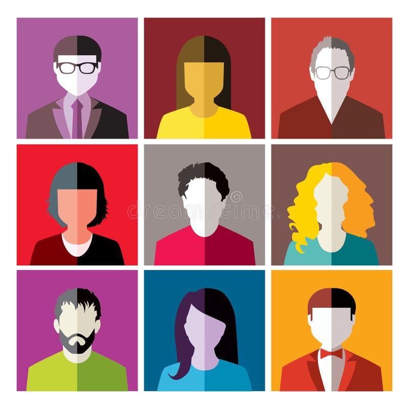 ludzie royalty ilustracja