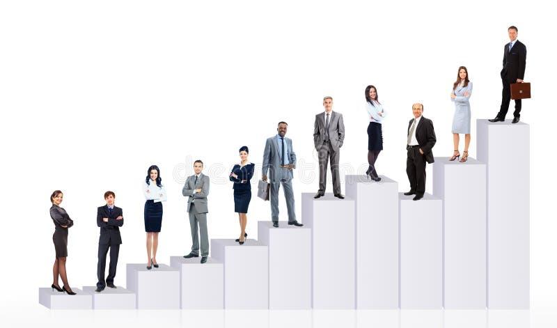 Download Ludzie Biznesu Drużyny I Diagram Obraz Stock - Obraz: 33044229