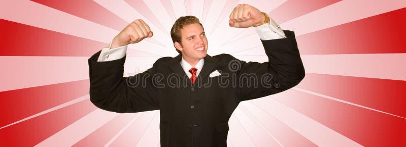 ludzie biznesu moc zdjęcie stock