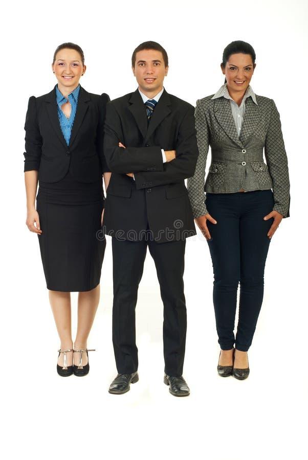 ludzie biznesu prac zespołowych obraz stock