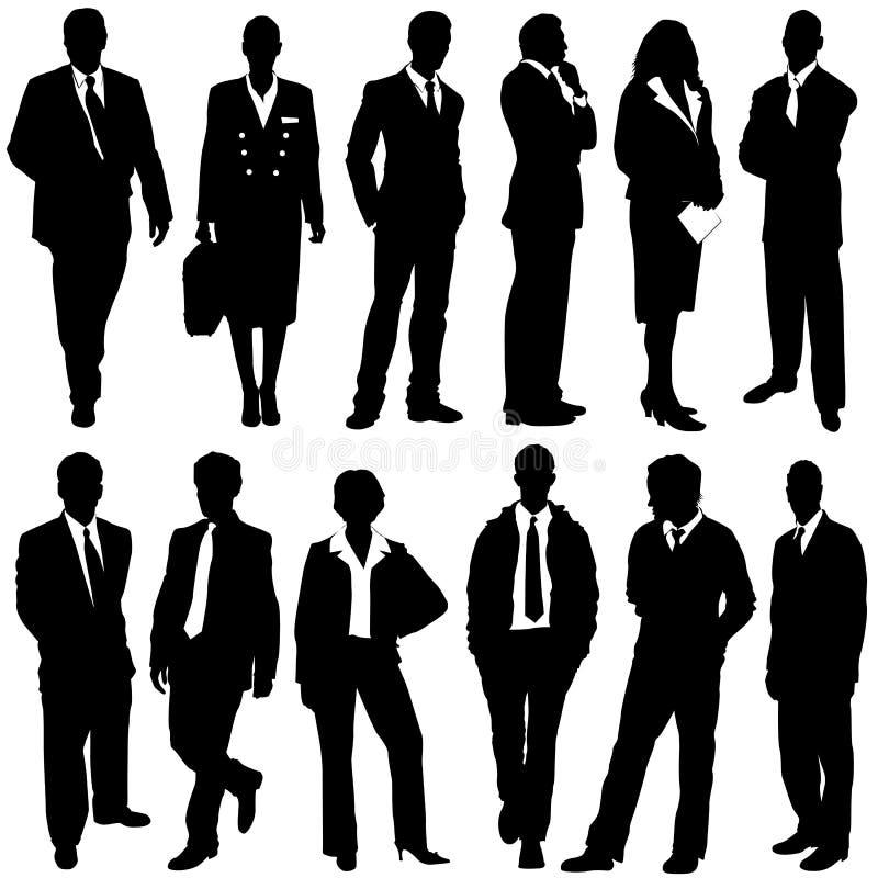 ludzie biznesu wektorów royalty ilustracja
