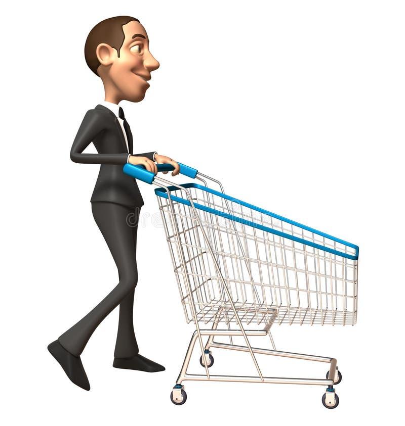 ludzie biznesu zakupy ilustracja wektor