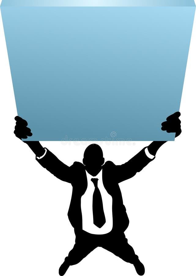 ludzie biznesu znak ilustracji