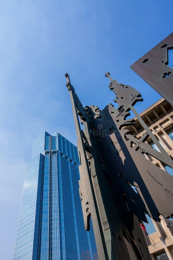 'ludzie i miasto' obrazy royalty free