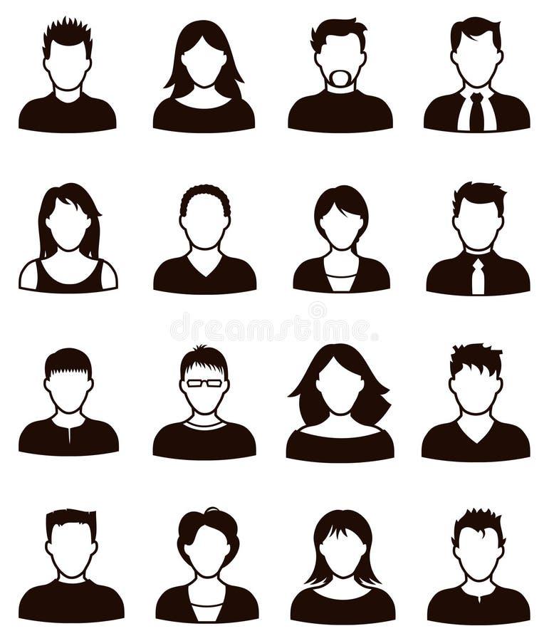 Ludzie ikon ilustracja wektor