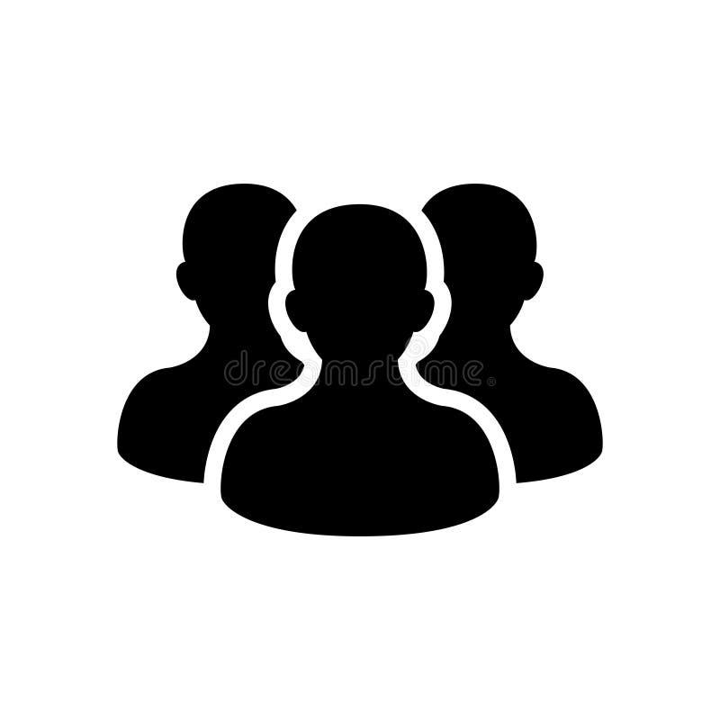 Ludzie ikon royalty ilustracja