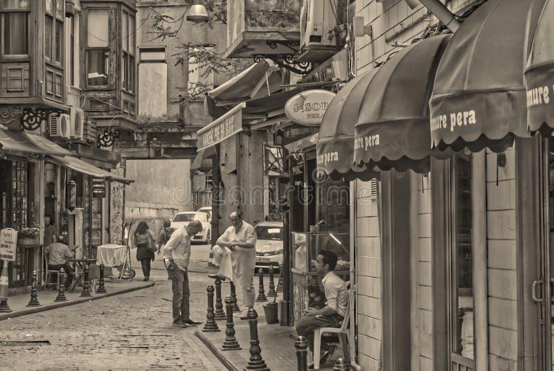 Ludzie Istanbul obraz stock