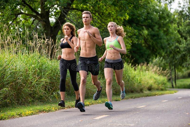 Ludzie Jogging fotografia stock