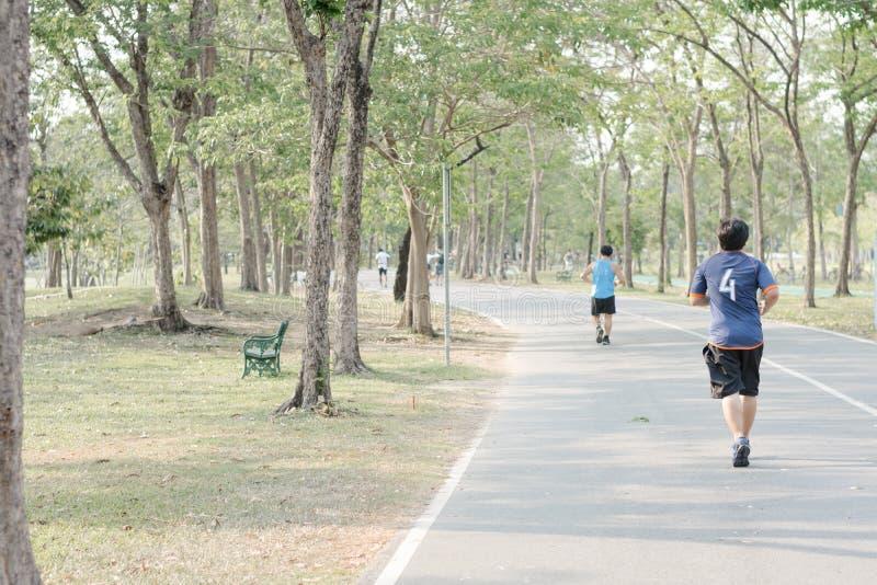 Ludzie Jogging zdjęcia royalty free