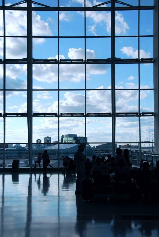 ludzie lotniskowych obrazy royalty free