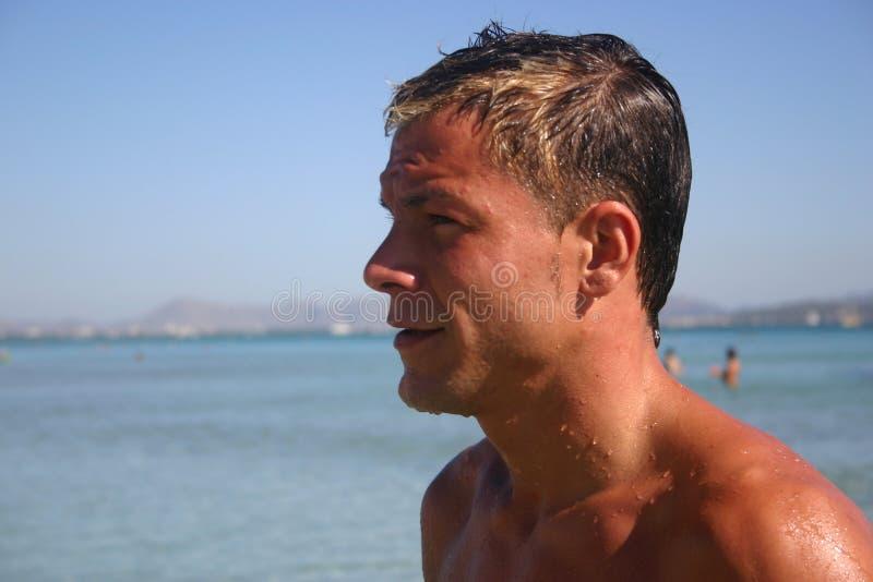 Ludzie Na Plaży Zdjęcie Stock