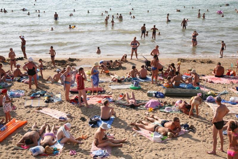 ludzie plażowi zdjęcia stock
