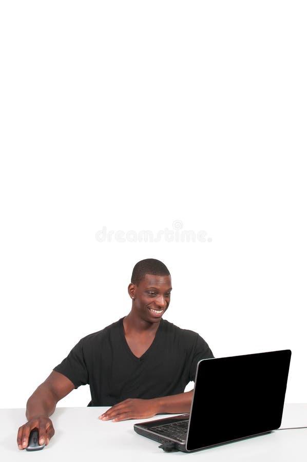 ludzie przy użyciu komputerowego fotografia stock