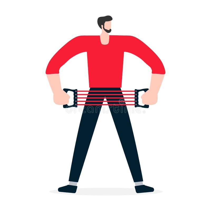 ludzie przydatno?? Sporta app Zdrowy styl życia royalty ilustracja