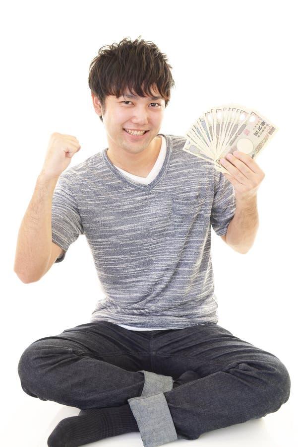 ludzie szczęśliwi pieniądze young zdjęcie royalty free
