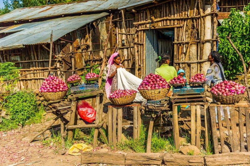 Ludzie w Etiopia fotografia royalty free