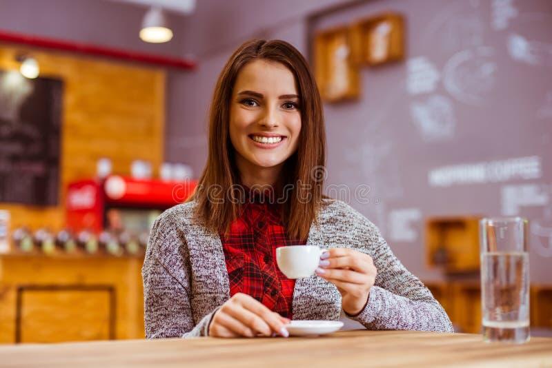 Ludzie w kawiarni fotografia royalty free