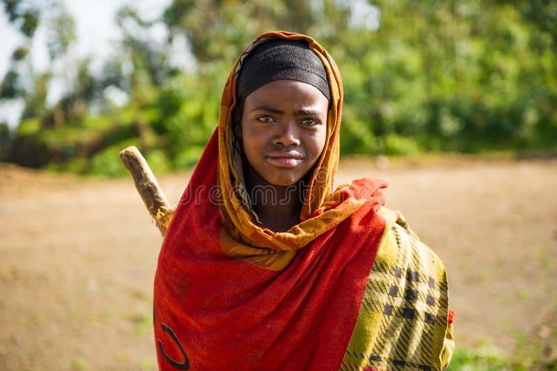 Ludzie w OMO, ETIOPIA zdjęcia royalty free