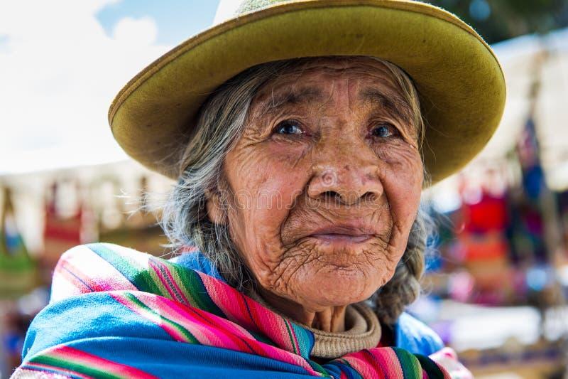 Ludzie w Peru obrazy royalty free