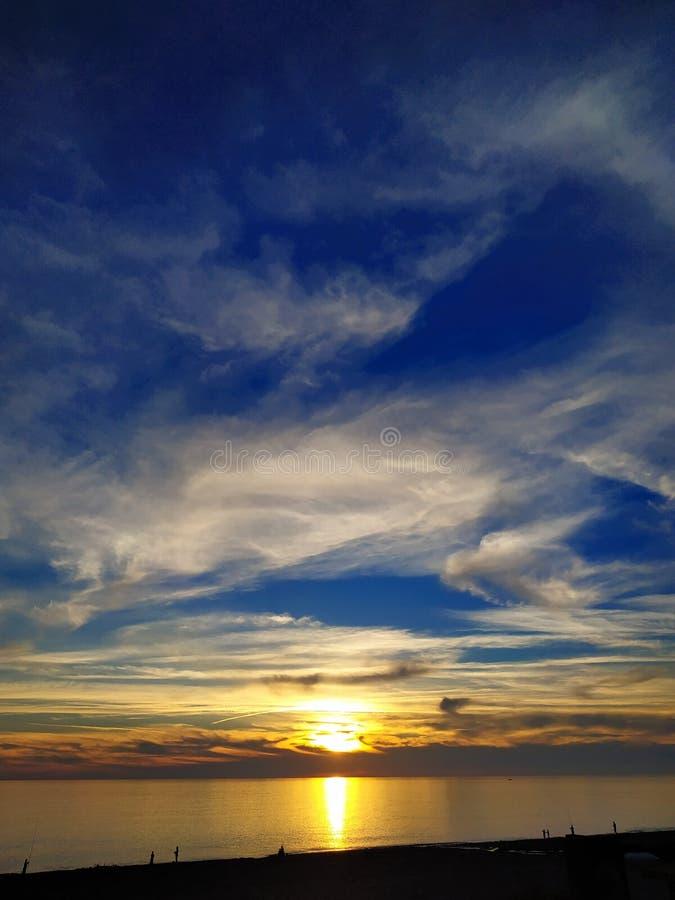 Ludzie widzią z słońca zdjęcia royalty free