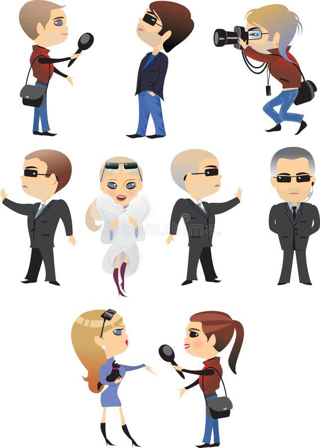 ludzie zawodów ilustracji