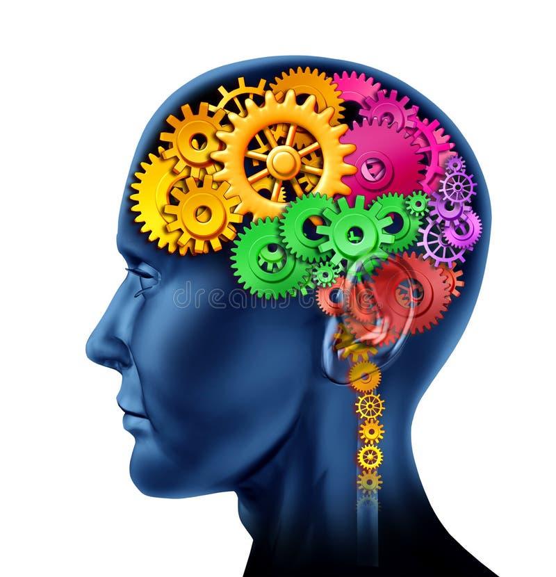 ludzka inteligencja ilustracja wektor
