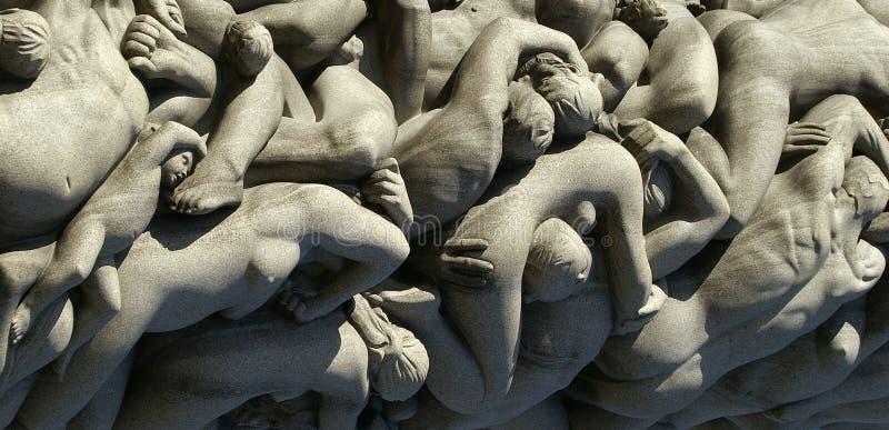 ludzka rzeźba ciała fotografia stock