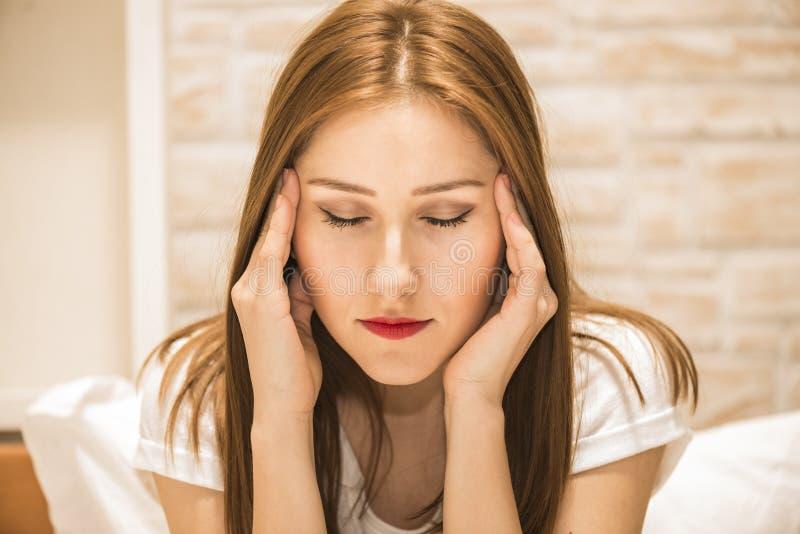 Ludzki emoci twarzy wyrażenie zdjęcie royalty free