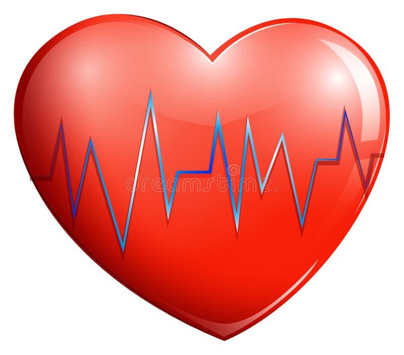 Ludzki serce ilustracja wektor
