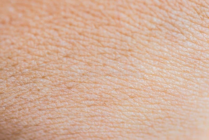 Ludzki skóry tekstury zakończenie w górę makro- tło kopii astronautycznej medycyny zdjęcia stock