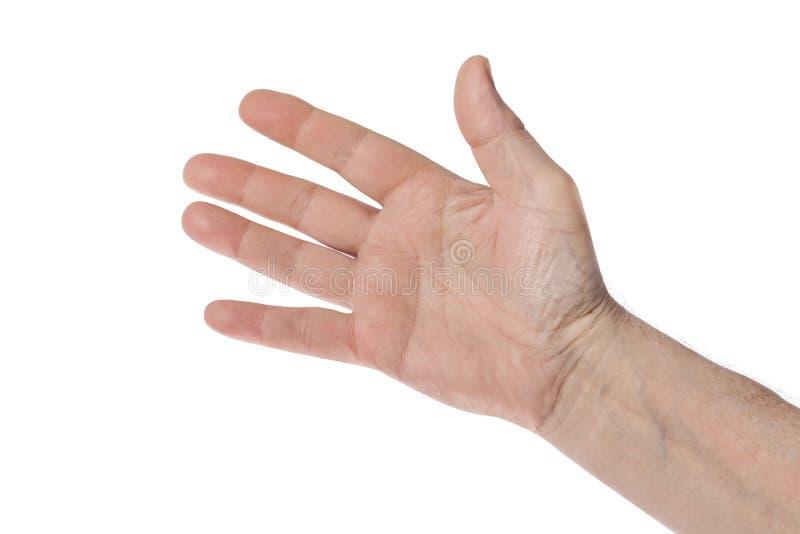 ludzkie ręce fotografia stock