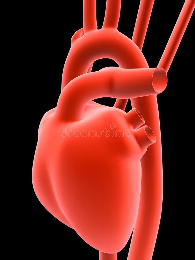 ludzkie serca ilustracji