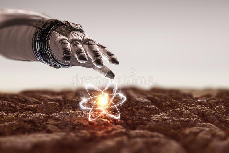 Ludzkości nauka i wszechświat obraz royalty free